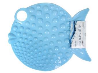 Коврик AQUA-PRIME 46*58см Big Fish (голубой)