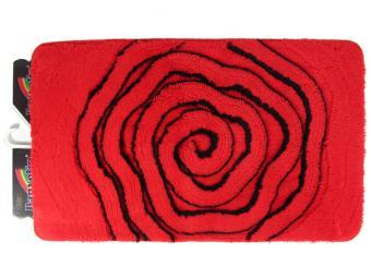 Коврик BANYOLIN SOFT PILE 60*100см 1шт Роза (красный)