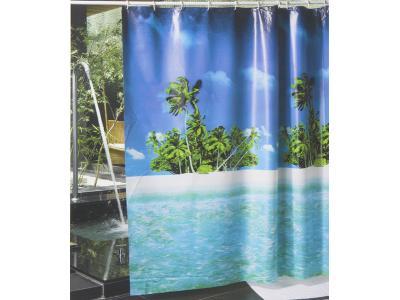 Штора для ванной 180*180 Гавайи