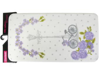 Коврик Confetti Bella 50*100см VINTAGE BIKE (пурпурный)