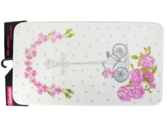 Коврик Confetti Bella 50*100см VINTAGE BIKE (розовый)