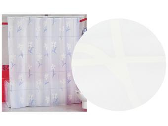Штора д/ванной комнаты MIRANDA (белый)