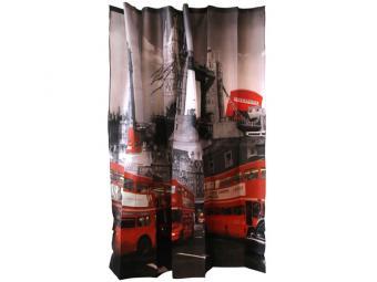 Штора для ванной 180*180см Curtain-Bus ''Лондонский автобус''