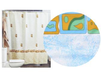 Штора для ванной комнаты Asturia Miranda голубой