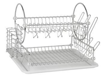 Сушилка для посуды хром 440104