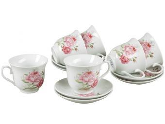 Чайный набор 12пр (фаянс) Rosenberg