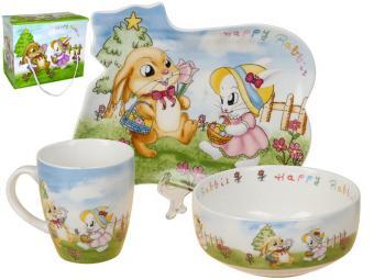 Набор детской посуды 3пр