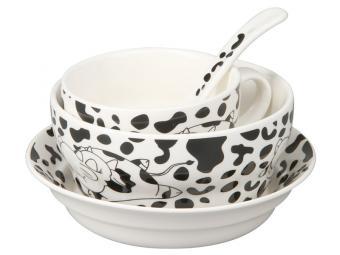 Набор детской посуды Буренка 4 предмета 87963