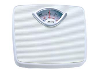 Весы напольные механические 130кг Белые