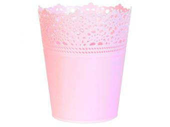 Горшок розовый Romance