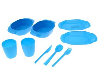 Набор посуды для пикника на 2 персоны