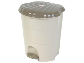 Ведро для мусора 7л (латте)