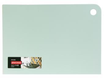 Доска разделочная GROSTEN прямоугольная 345*245*2мм (мятный)