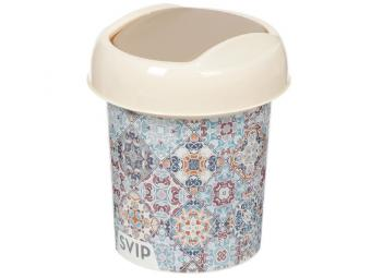 Контейнер для мусора 1л Декор Марокко