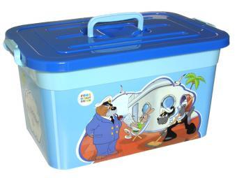 Ящик для игрушек 15л ''Союзмультфильм''