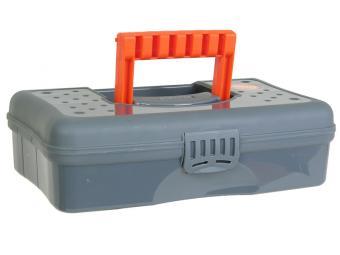 Органайзер HOBBY BOX 12'' (серо-свинцовый/оранжевый)