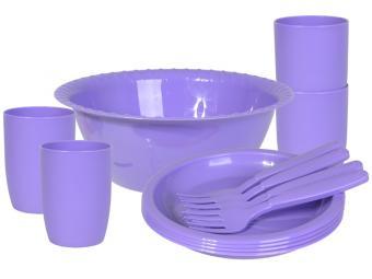 Набор посуды для пикника ''Витто'' на 4 персоны