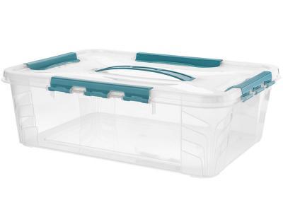 Ящик GRAND BOX 10л универсальный с замками 451368 Бытпласт