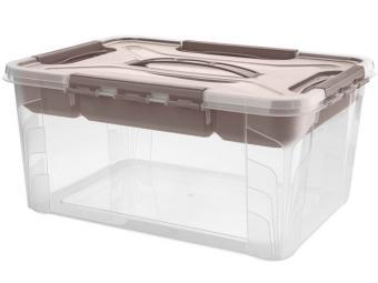 Ящик GRAND BOX 15,3л с замками и органайзером 390*290*180мм