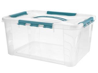 Ящик GRAND BOX 15,3л с замками 390*290*180мм