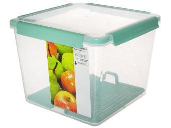 Емкость для продуктов с решеткой для слива 5,2л квадратная Copenhagen
