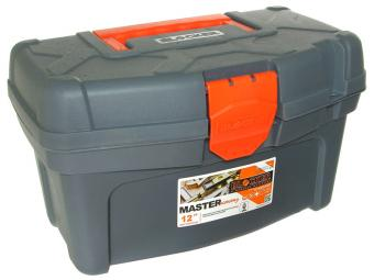 Ящик для инструментов Master Economy 12'' серо/оранж