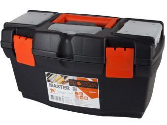 Ящик для инструментов Master 16'' чёрный/оранжевый