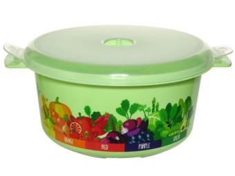 Кастрюля для СВЧ 1,8л VITALINE салатовый