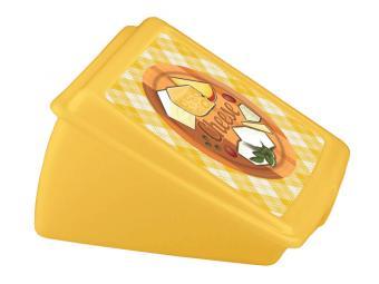 Контейнер для сыра с декором 13,5*12*7,5см