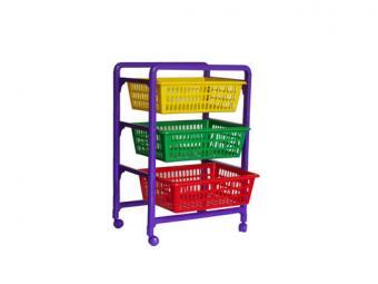 Контейнер для игрушек с выдвижными ящиками