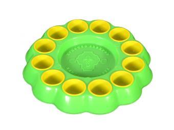Блюдо Пасхальное для яиц пластик цвета в ассортиме