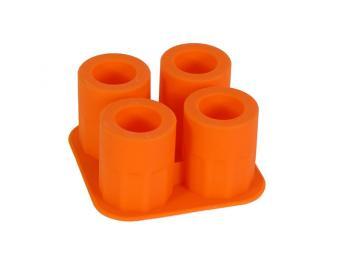 Форма силиконовая Стопочки 4 ячейки