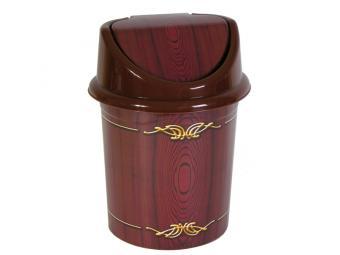 Контейнер для мусора Дерево 8л с подвижной крышкой