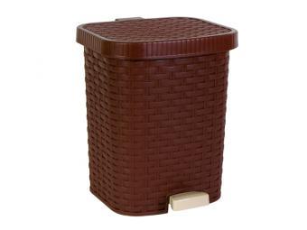 Контейнер для мусора 8л Артлайн педальный