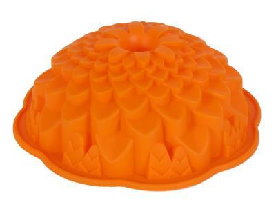 Форма для выпечки силикон 22*8см Хризантема