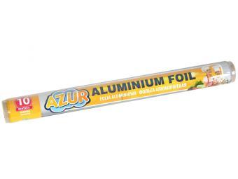 Фольга алюминиевая 10м Азур