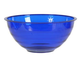 Салатник Венеция 1,8л синий прозрачный