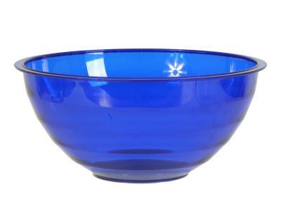 Салатник Венеция 1, 8л синий прозрачный Berossi