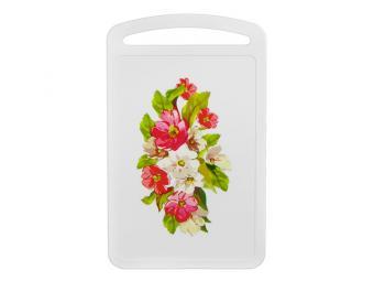 Доска разделочная Цветы 31,5*19,5см