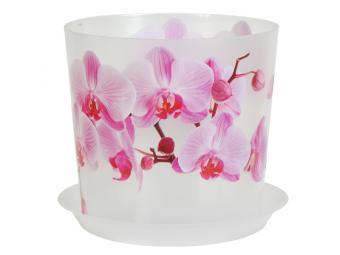 Кашпо Деко 1,2л 125мм (орхидея)