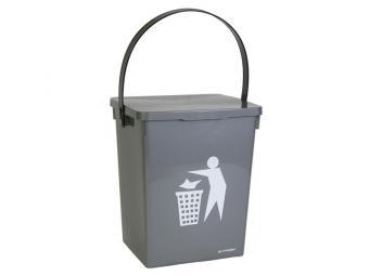 Контейнер для мусора 8,5л прямоугольный