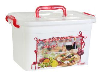 Контейнер для продуктов 6,5л К праздничному столу