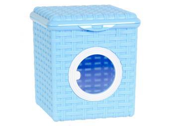 Контейнер для мелочей 3л голубой