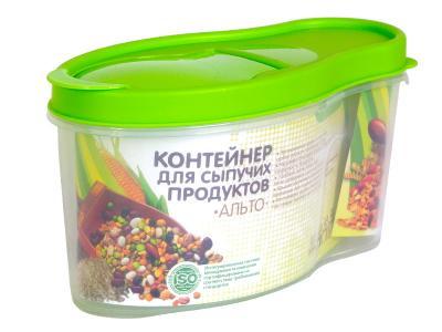 Контейнер Альто 1л для сыпучих продуктов Martika АПС281
