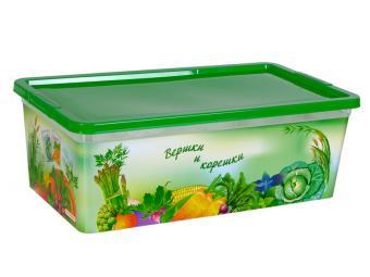 Коробка для семян Вершки и корешки