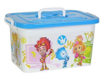 Ящик для игрушек 10л Фиксики