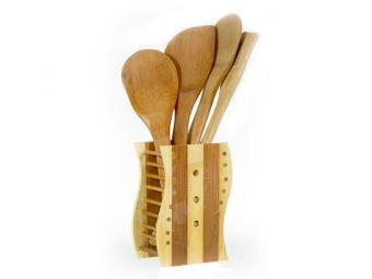 Лопатки бабмуковые в подставке 4шт