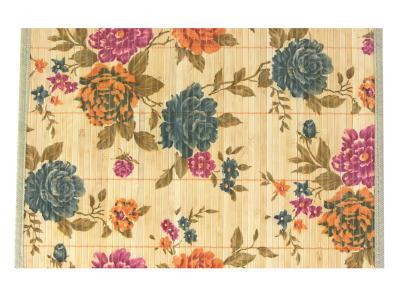 Салфетка бамбук широкая планка Цветы 45*30см