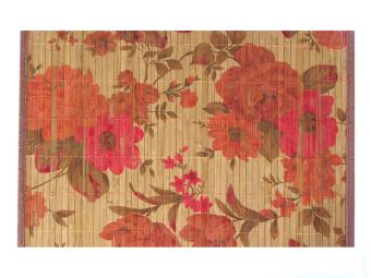 Салфетка бамбук широкая планка Букет 45*30см