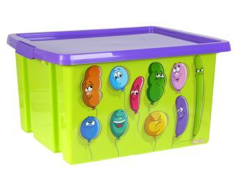 Ящик для игрушек 30л 47*36,5*24,5см